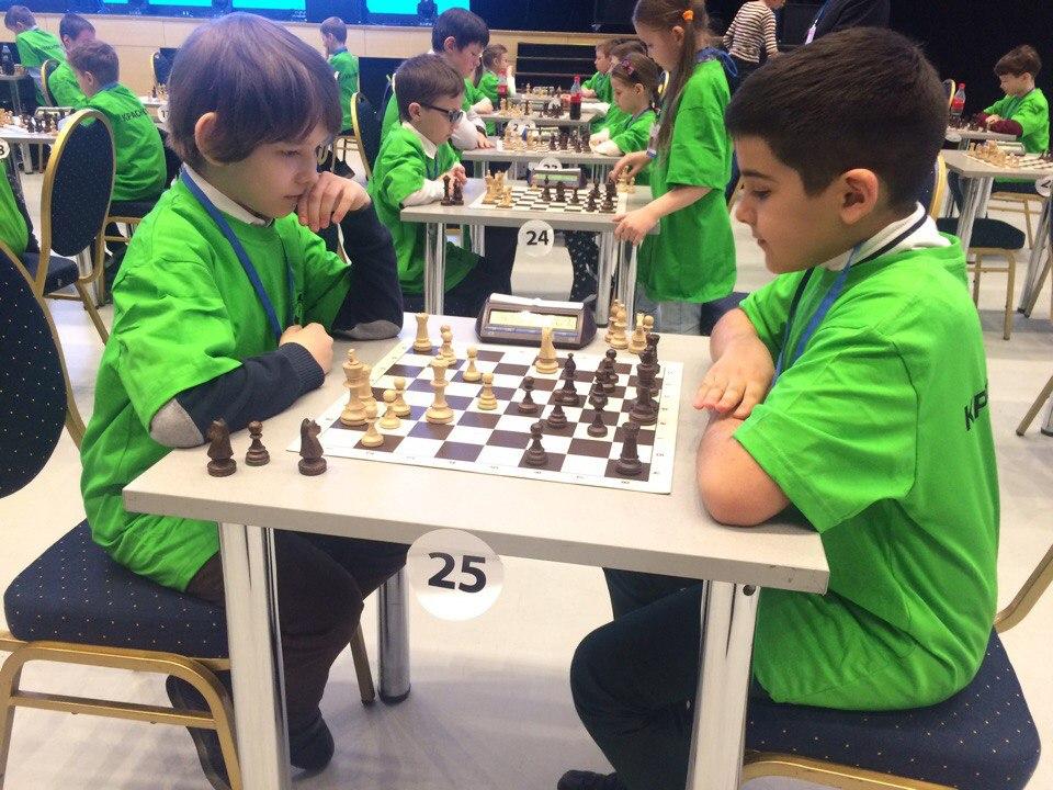 Шахматный турнир на КЭФе - 2018