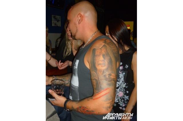 Организаторами тату-битвы стали челябинские байкеры