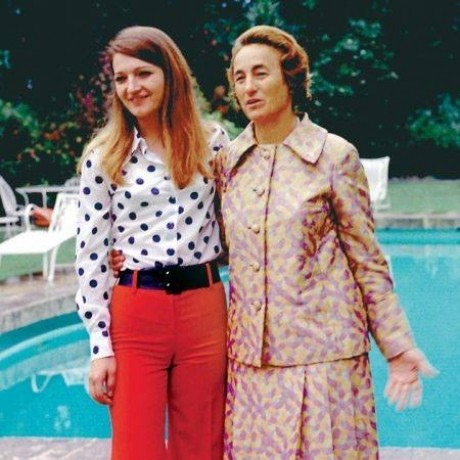 Зоя и Елена Чаушеску. 1978 г. Фото: Public Domain