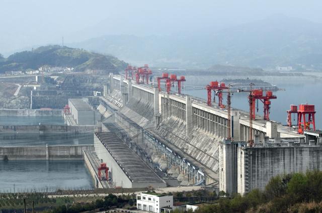 ГЭС «Три ущелья».