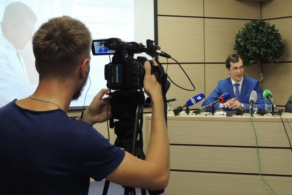 Пресс-конференция вызвала большой интерес у журналистов.