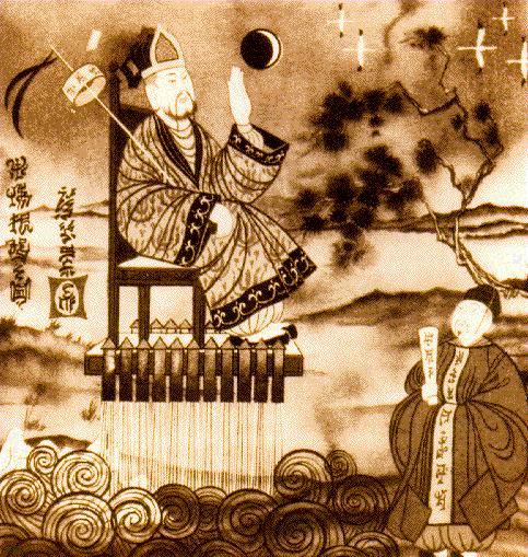 Вань Ху и его изобретение.