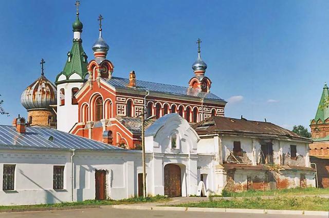 Монастырь возродили только в 2002 году.