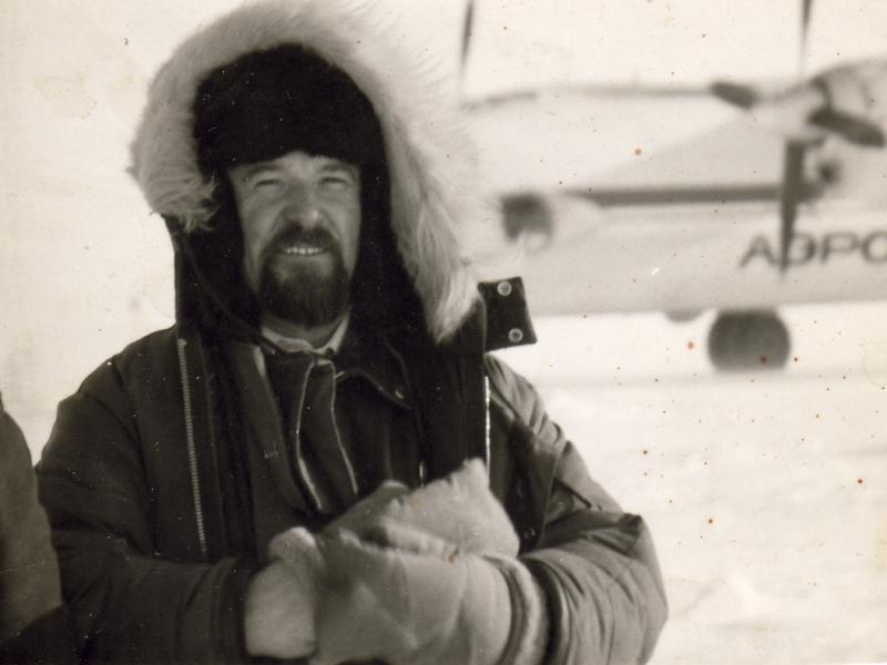 Владимир Баранов летал в экспедиции сорок лет