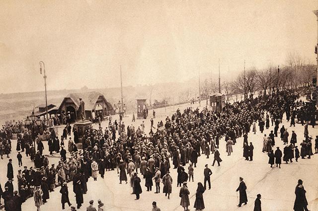 Войска немецко-румынских захватчиков в Одессе