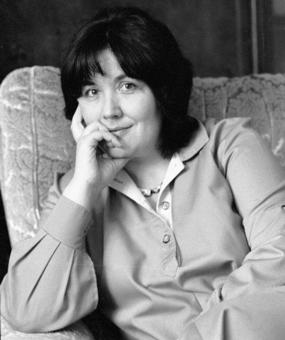 Писательница Виктория Токарева. 1985 год.