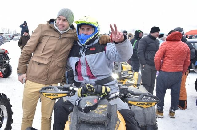 В «Карачевском заносе» приняли участие более сотни гонщиков.