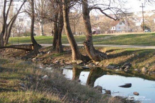 Река Салгир.