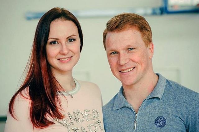 Евгений со своей избранницей Анастасией.