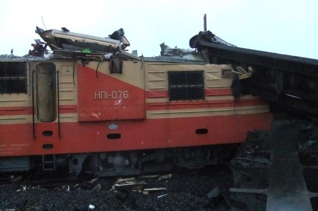 Предварительная причина - невнимание локомотивной бригады