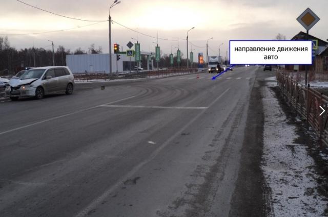 Пешеход погиб.