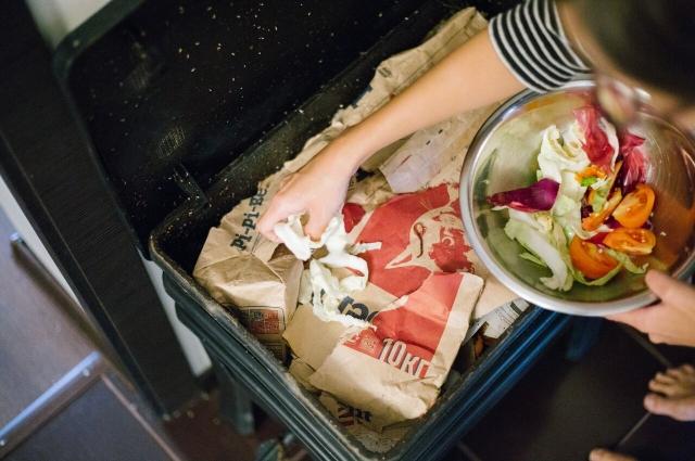 Правильная утилизация пищевых отходов сократит выбросы вредных веществ в атмосферу.