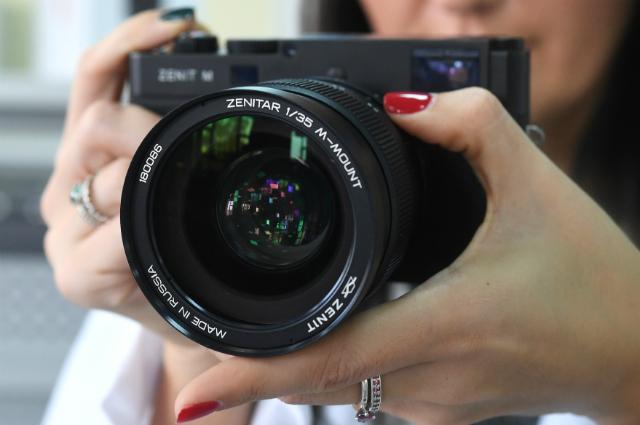 Фотоаппарат «Зенит-М».