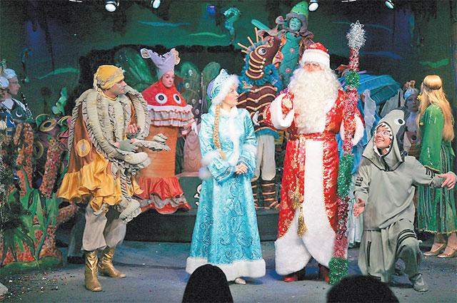 Юных зрителей ждёт волшебное шоу по мотивам сказки Шарля Перро.