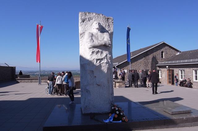Памятник Дмитрию Карбышеву в Маутхаузене.