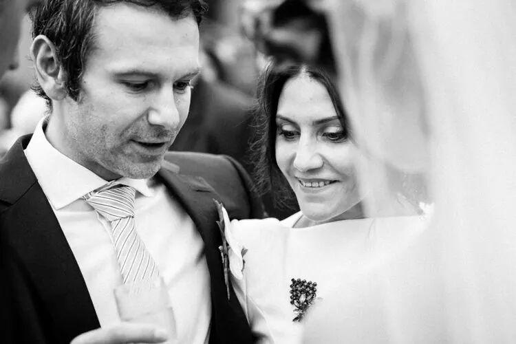 Святослав Вакарчук и его жена