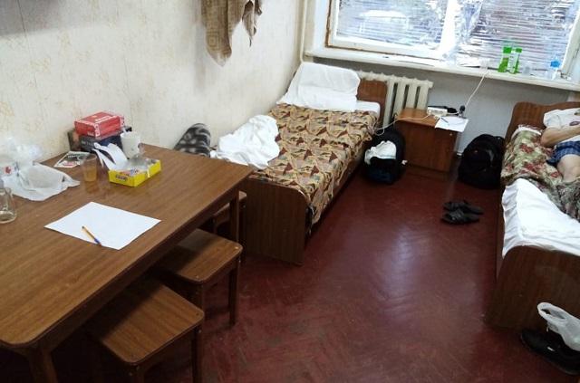Комната обсерватора в немедицинском здании г. Шахты Ростовской области.