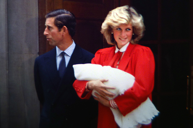 Принц Чарльз и принцесса Диана. 1984 год