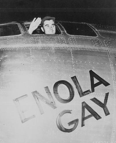 Пол Тиббетс перед атакой, утро 6 августа 1945 года