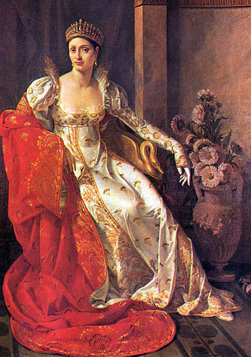 Элиза Бонапарт. Портрет работы Мари-Гийомин Бенуа, 1805 г