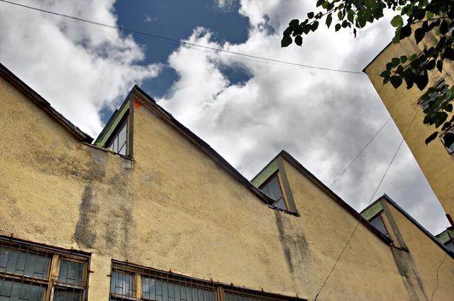 Дом Наркомфина на Новинском бульваре в Москве