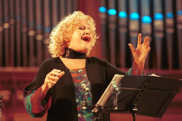 Елена Образцова, 2003 год.