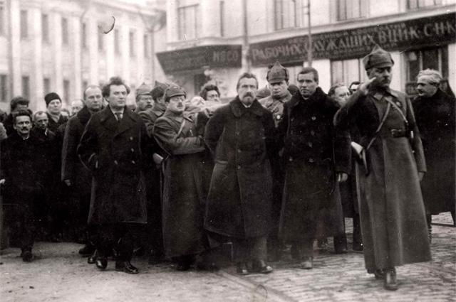 Похороны Михаила Фрунзе