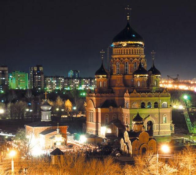 Храм иконы Казанской Божией Матери в Оренбурге