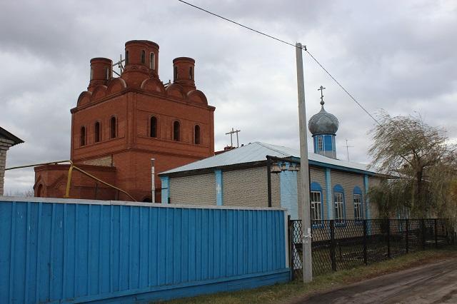 Храм Николая Чудотворца в Шемышейке начали строить еще в 90-х.