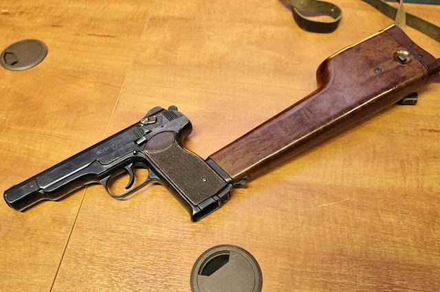 Автоматический пистолет Стечкина, АПС.