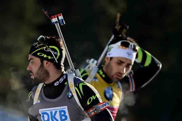 Симон Фуркад и Мартен Фуркад (справа).