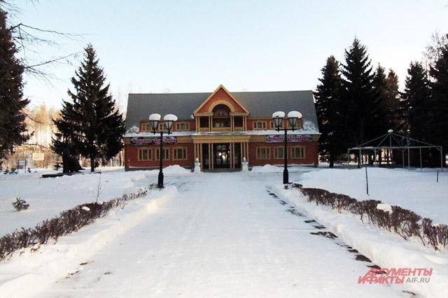 Резиденция Кыш Бабая в селе Новый Кырлай