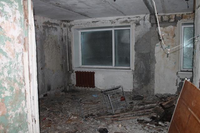 Заброшенная квартира.