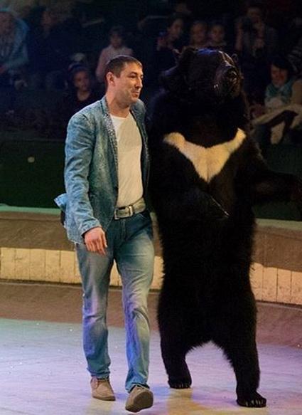 Гималайский медведь Потап тот ещё обаяшка!