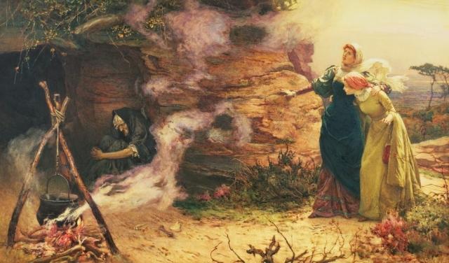 Э. Бревталь. Визит к ведьме. 1882 год