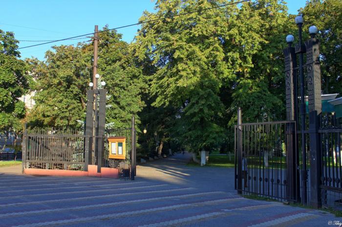 Первомайский сад Воронеж