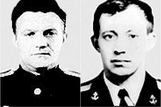 Алексей Устенко и Леонид Мартынов (слева направо).