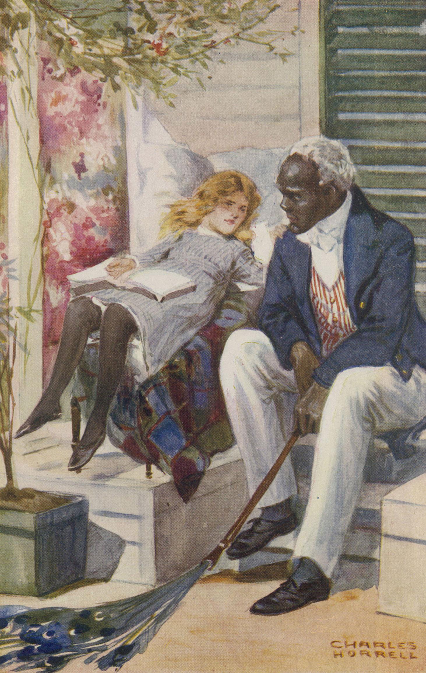 Иллюстрация 1852 года к роману Гарриет Бичер-Стоу Хижина дяди Тома