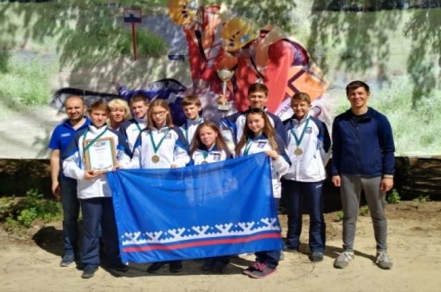 Юные спасатели Ямала стали лучшими в межрегиональных соревнованиях.