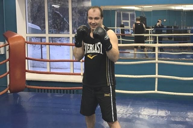 Семь лет назад Антон Удальёв увлёкся боксом.