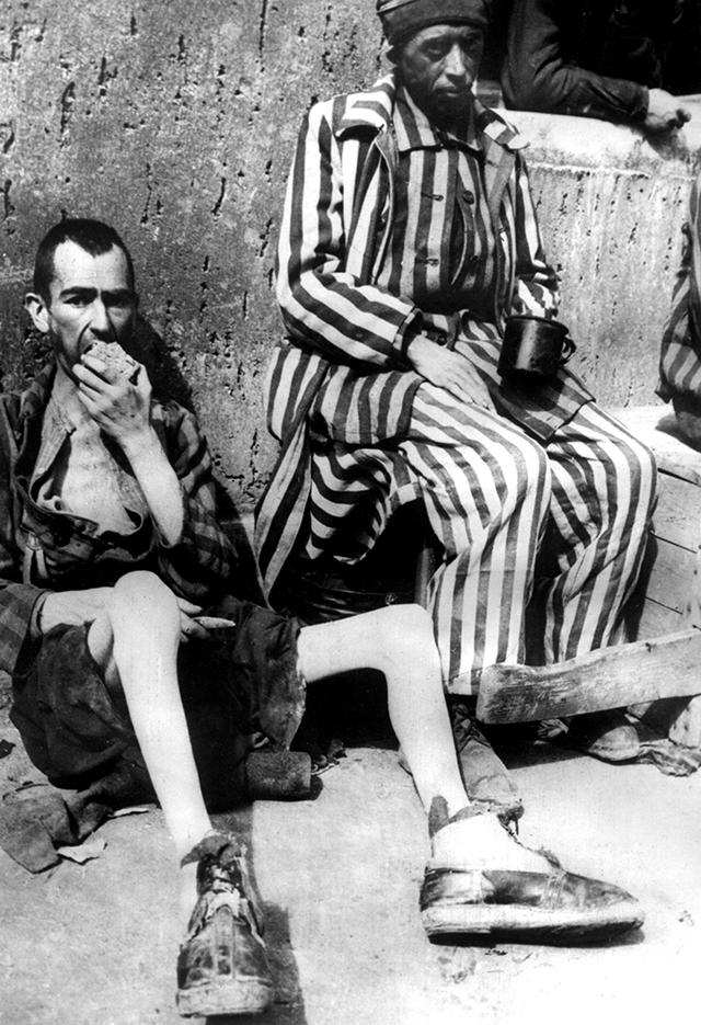 Заключённые концлагеря