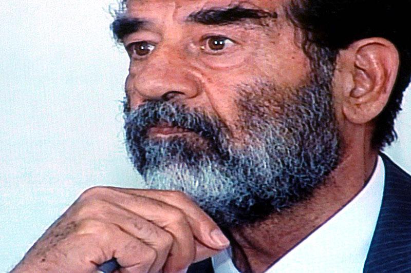 Саддам Хусейн незадолго до казни