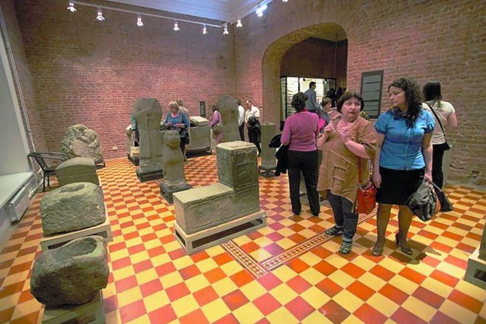 Уникальные экспонаты музея.