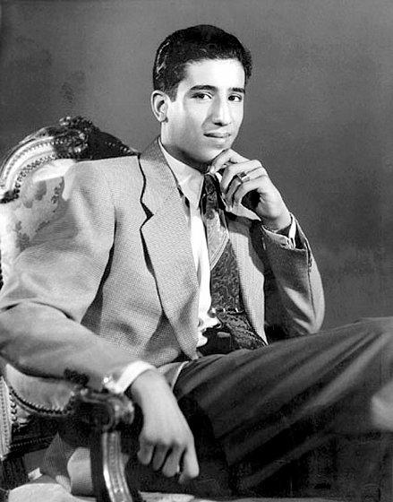 Салман бен Абдель-Азиз Аль Сауд в молодости.