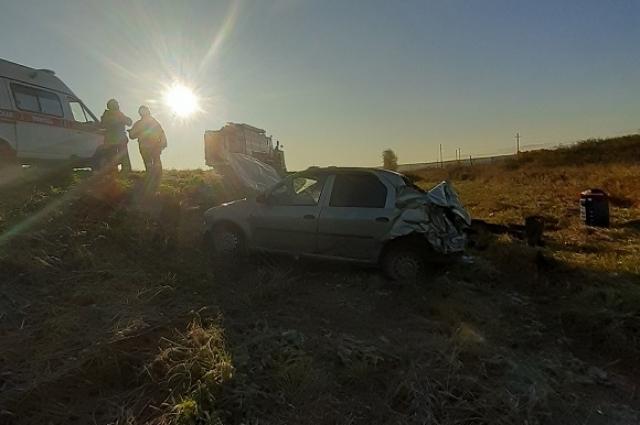 На скорой пострадавших отвезли в ЦРБ Кунгура.