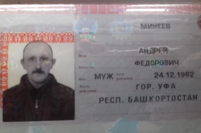 Андрей Минеев, 1962 г.р.