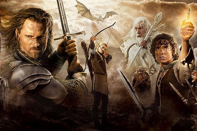 Постер фильма «Властелин колец»