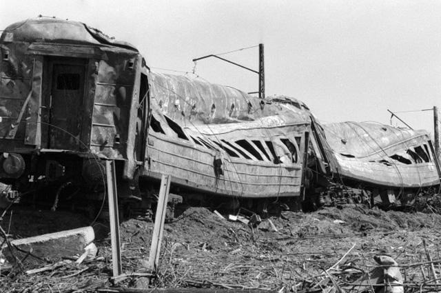 Железнодорожная катастрофа на Транссибирской магистрали