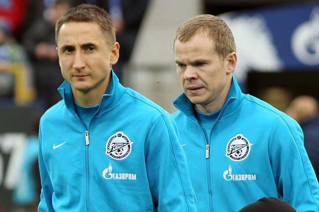 Владимир Быстров (слева) и Александр Анюков
