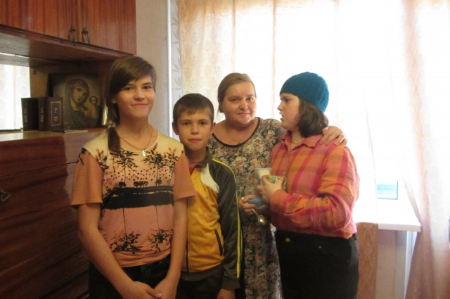 В России семья Гулидиных нашла пристанище и помощь.